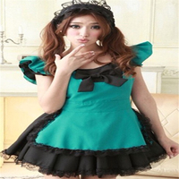 Sexy Maid Lace Outfit Suit Game Uniform Women's Sexy Lingerie Maid Service Role Playing Costumes 253