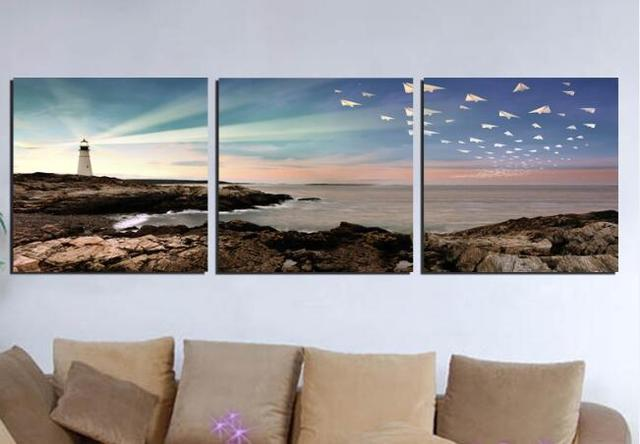 Hot 3 Panels Wall Pictures For Living Room Canvas Home Decor Printed Painting Long Time