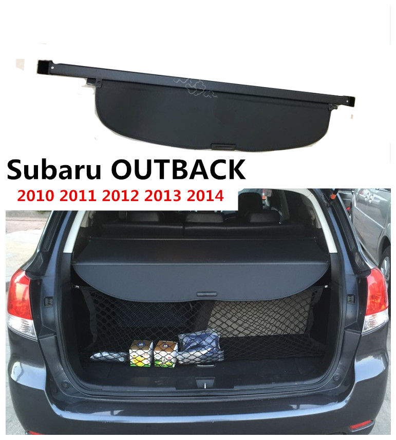 For Subaru OUTBACK 2010 2011 2012 2013 2014 Rear Trunk Cargo Cover Security Shield Screen shade High Qualit Car Accessories цены