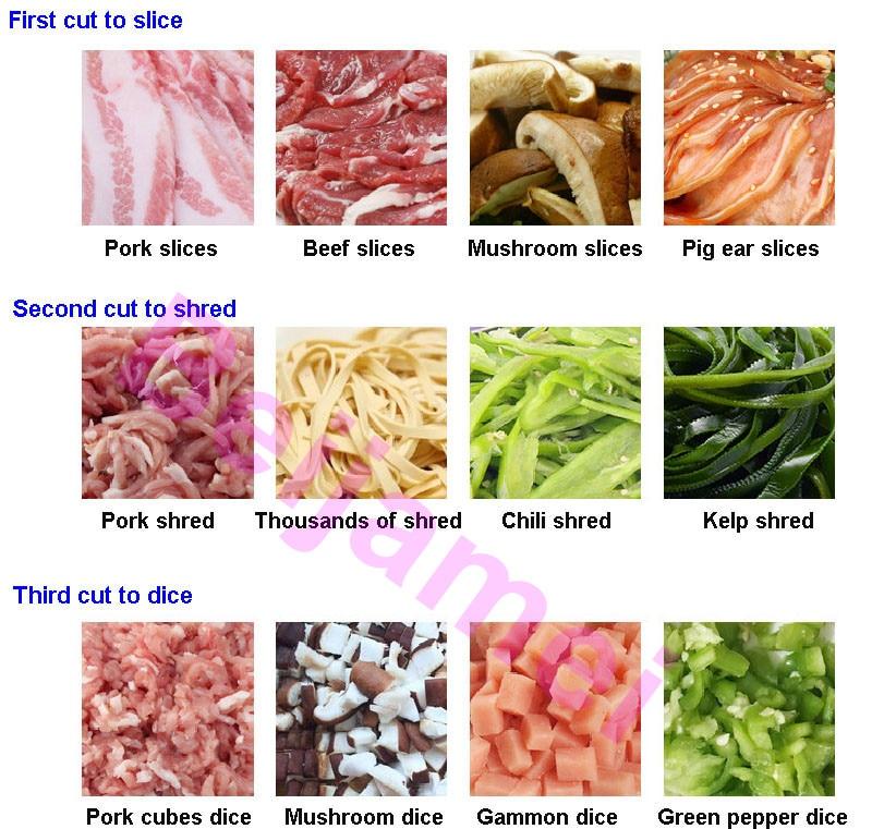 meat vegetable slicer