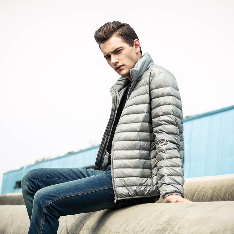 ツ)_/¯Nuevo pato blanco Abrigos de plumas chaqueta hombres ...