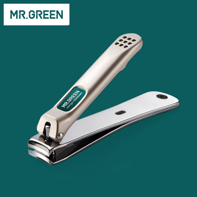 MR.GREEN 12 in1 Manicure Set Stainless Nail Clippers Cuticle Utility Manicure Set Tools Nail Care Grooming Kit Nail Clipper Set 3