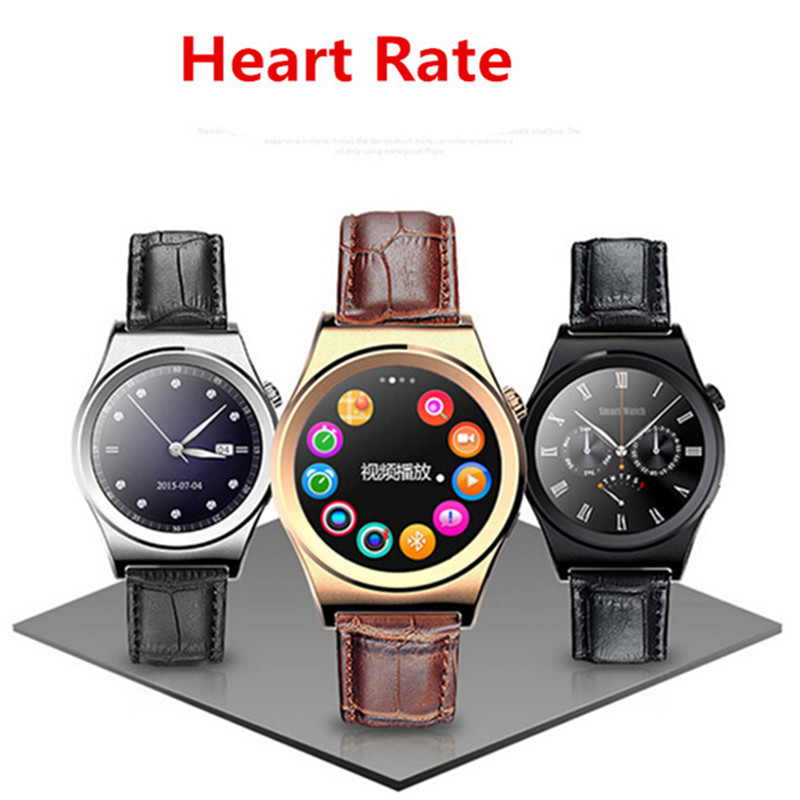NEW Smart Watch Heart Rate Monitor Pedometer Sedentary Reminder Sleep Monitor Wristwatch Bluetooth Information Pushing Watches bluetooth siri diggro di02 mtk2502c 128mb 64mb smart watch heart rate pedometer sleep monitor sedentary android & ios reminder