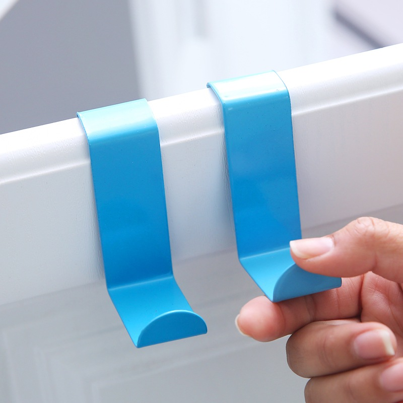 Z-shaped Reversible Clothes Hanging Hooks Over The Door Hooks 2pc/set