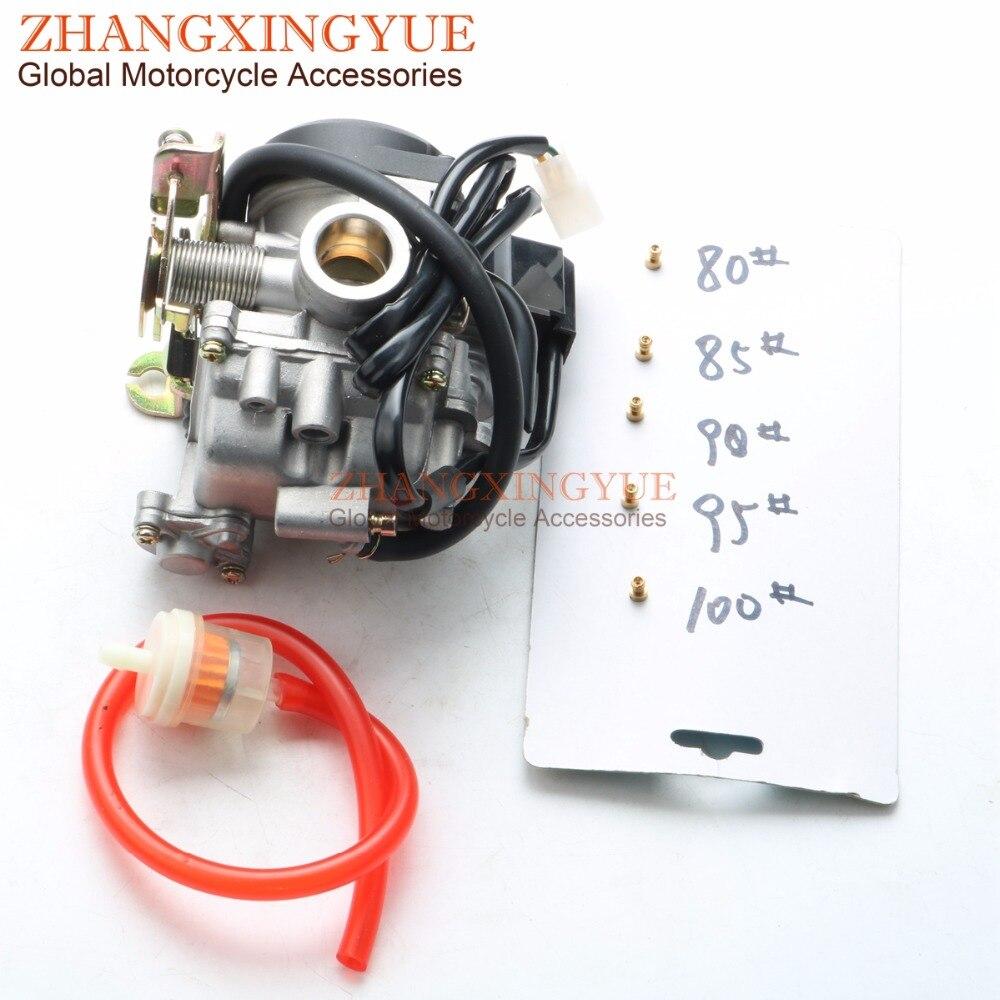 Carburateur de Scooter 50cc de haute qualité cyclomoteur pour GY6 50cc 100cc 139QMB SUNL ROKETA JCL Qingqi Vento 4 temps