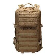 Outdoor hiking adventure backpack waterproof camping camouflage large capacity package