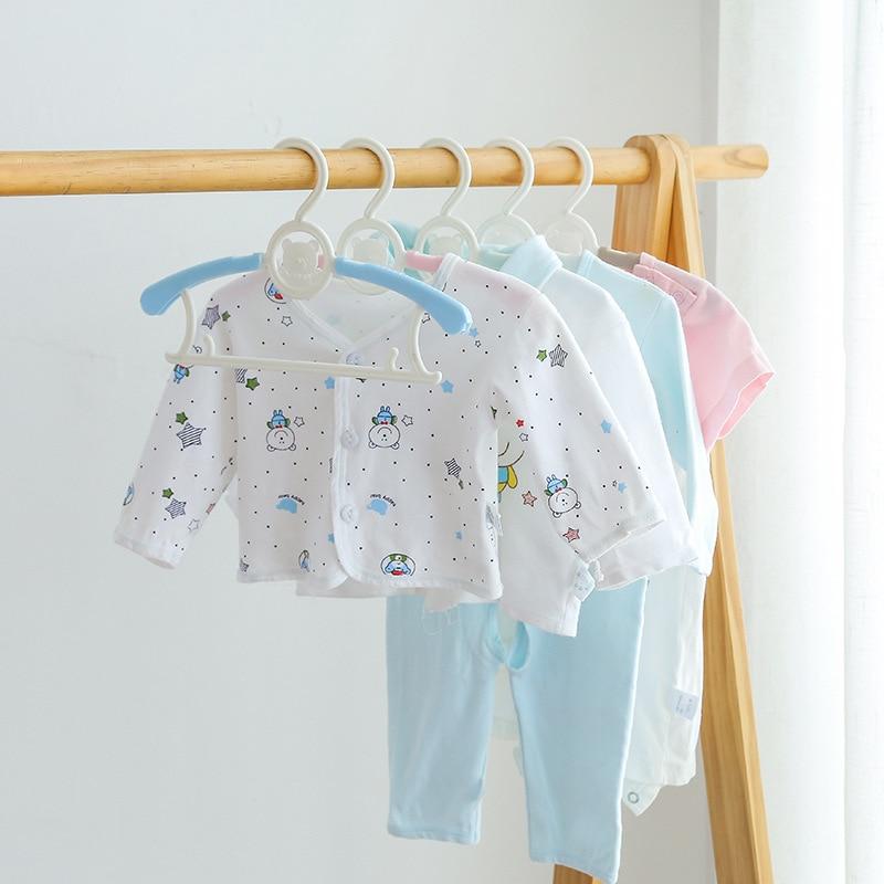 5pcs/lot Kids Hangers For Clothes Child Coat Hanger Organizer Wardrobe Closet Plastic Baby Hanger Clothing Trousers Hanger Rack