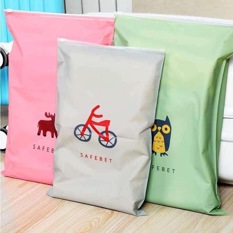 Wodoodporne buty do bielizny torby do przechowywania szafa torebki próżniowe do szafa na ubrania szafa makijaż zabawki organizator torebka na suwak