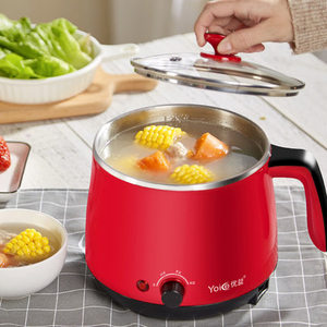 Image 2 - Multi Household Cookers 220V 1.5L Student Dormitory Cooking Noodle Pot Small 600w Electric Skillet 1 2 Person