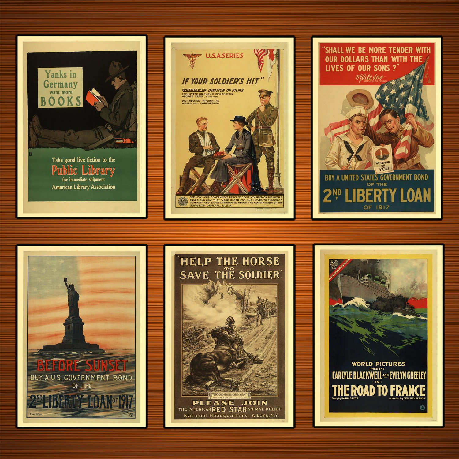 Vintage 1910s USA WW1 Propaganda Poster Please Join The American Red Star Classic Canvas Paintings Wall Stickers Home Decor Gift image