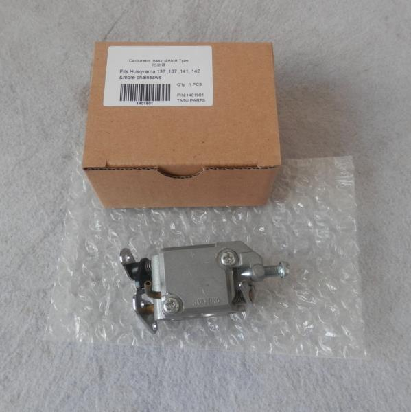 CARBURETOR AY FOR HUS. CHAINSAW 36 41 136 137 141 142 POULAN 2750 2900 3050 CHAIN SAW CARB ASSY CARBY  REPL. ZAMA  #530 03 54-82 piston assy 48mm for hus chainsaw 61 cylinder kit chain saw zyliner kolben ay w wirst pin ring clips parts