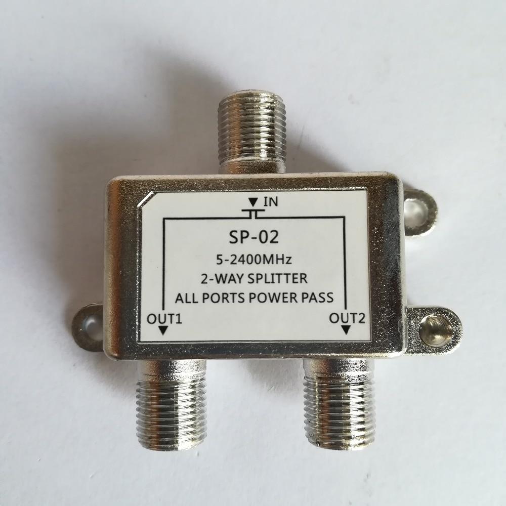 2 Ways Satellite Splitter MultiSwitch FTA TV LNB Switch Cascade Satellite 2 In 1 Multiswitch TV Signal Mixer SAT ANT Diplexer