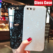 HD Clear Tempered Glass Case For Huawei Honor 10 View 9 Bumper Silicon Back Cover for Lite 8X 7C 7A
