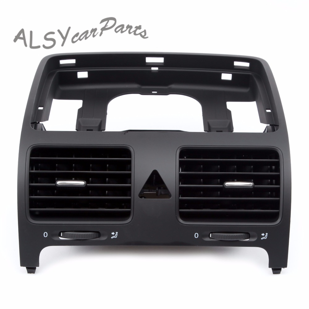 KEOGHS OEM 1K0 819 728 F Black Front Central Dashboard Air Outlet Vent For VW Jetta MK5 Golf MK5 GTI 5 MK5 Rabbit 1K0819728F in Air conditioning Installation from Automobiles Motorcycles