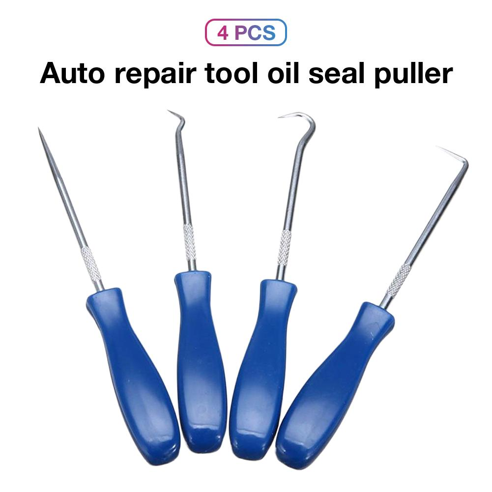 4pcs Pick and Car Hook Oil O-Ring Seal Remover Pick Set Craft repair Tool Great
