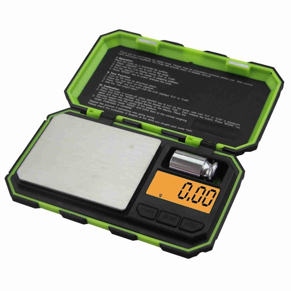 Mini 200g x 0.01g escala digital de