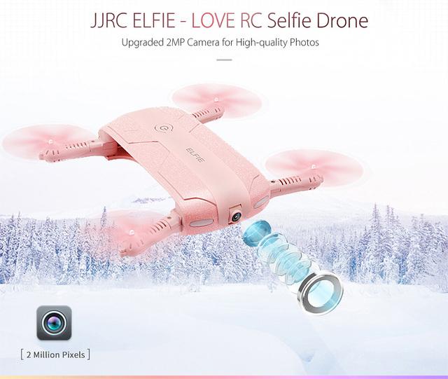 JJRC H37 selfie drone Mini Foldable with 720P HD camera WiFi FPV G-sensor