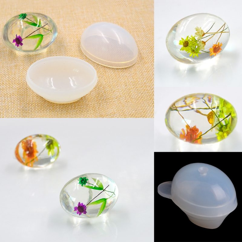 Quail Egg Silicone Mold Resin  Mould Epoxy Pendant Craft DIY Jewelry Making Tool