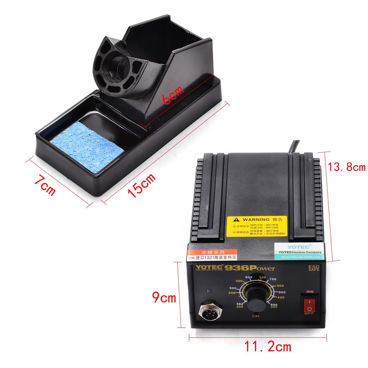 936 Station de soudure électrique de soudure de fer de changement de fréquence 110 V/220 V pour la réparation de dessoudage