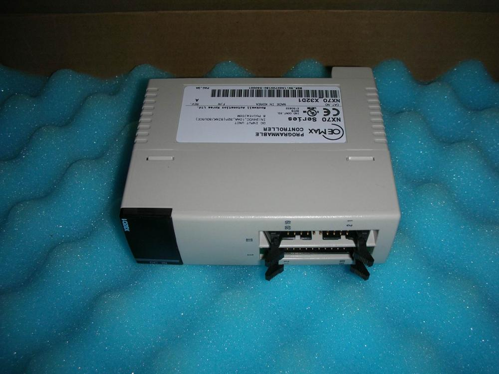 1PC USED PLC NX70 X32D1 AB 1pc used ab plc nx7 28edt