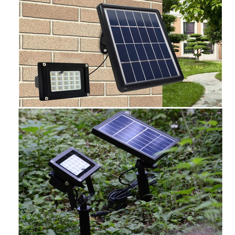 [DBF]LED Solar Flood Light 10W RGB Outdoor Lighting Waterproof IP65 LED Flood Light with Solar Panel LED Spotlights Garden Lamp waterproof ip65 900lm 10w led flood light high power outdoor