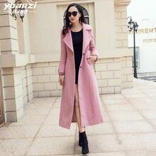 Women Winter Coat Ladies Coats Wool Blend Coat Female Suit c