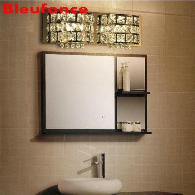 Applique da parete Moderno Europeo Trucco LED Specchio del Bagno di ...