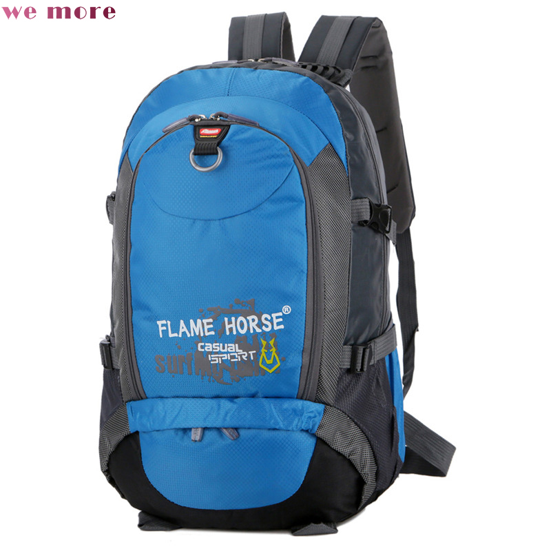 We More New Arrival Travel Reduction Of Oxford Backpack Leisure Multi Function Mountaineering Double Shoulder Bag