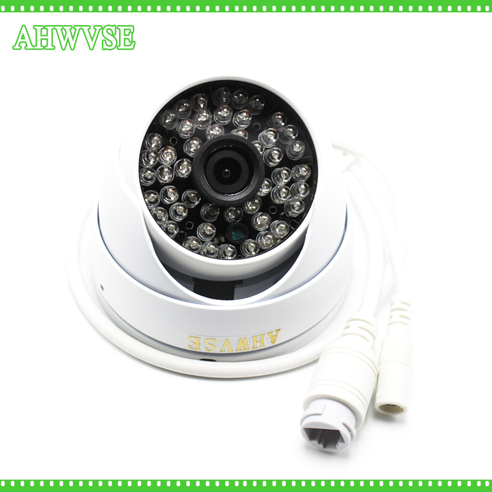 AHWVSE Free Shipping HD 1080P 2.0MP ONVIF Waterproof Outdoor IR CUT Night Vision P2P Plug and Play Mini Dome POE IP Camera free shipping p2p 720p 1mp hd plug