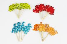 Dinosaur Design Cupcake Toppers 24 pcs/set