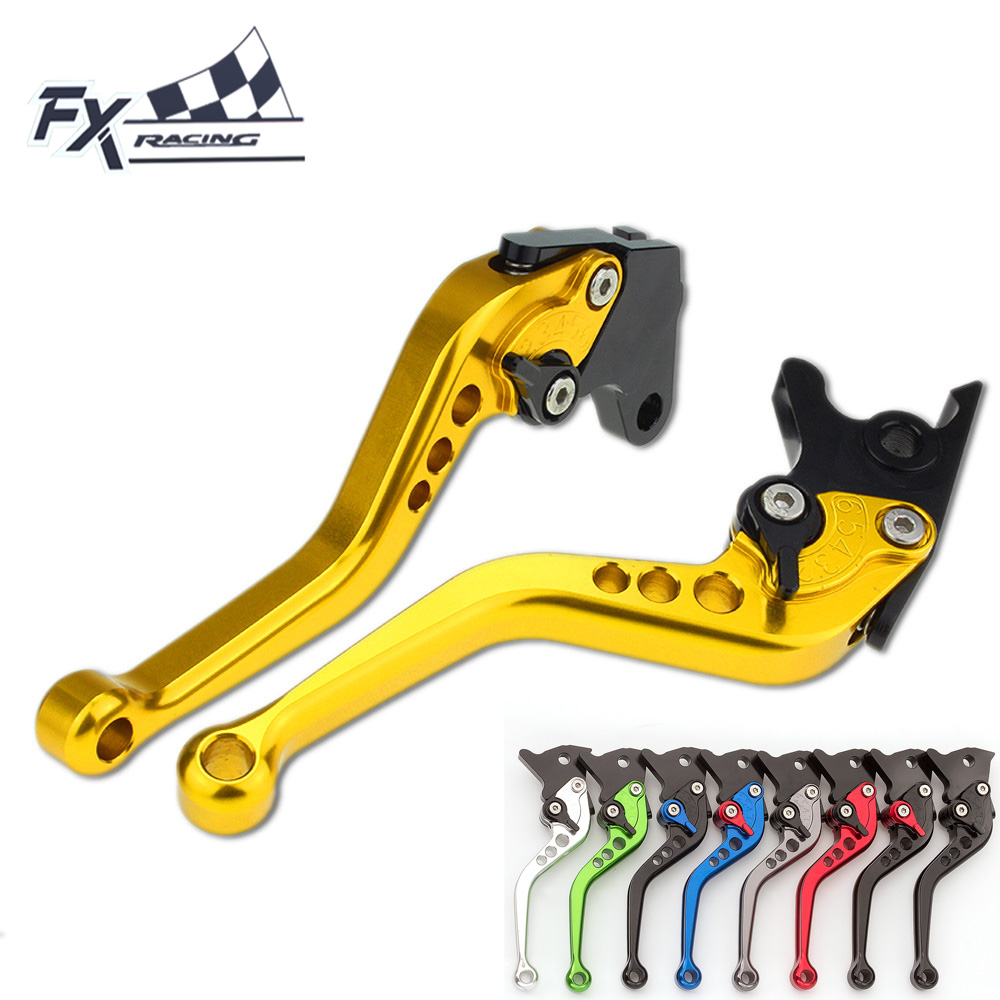 FX CNC Aluminum Adjustable Motorcycle Brake Clutch Lever For Kawasaki ZZR 600 ZZR600 1990 - 2004 ZXR 400 ZXR400 All Years