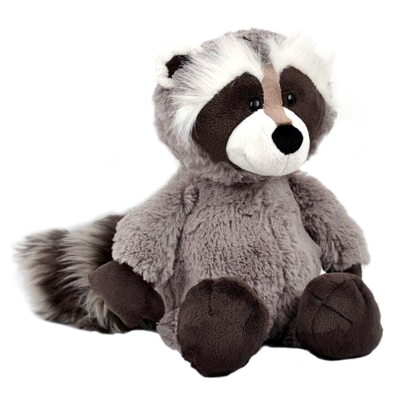 1pc 25cm NICI Coon Bear Plush Toys Stuffed Raccoon Plush Dolls Cute Animal Toys Kids Doll Children's Gift Doll cartoon movie teddy bear ted plush toys soft stuffed animal dolls classic toy 45cm 18 kids gift