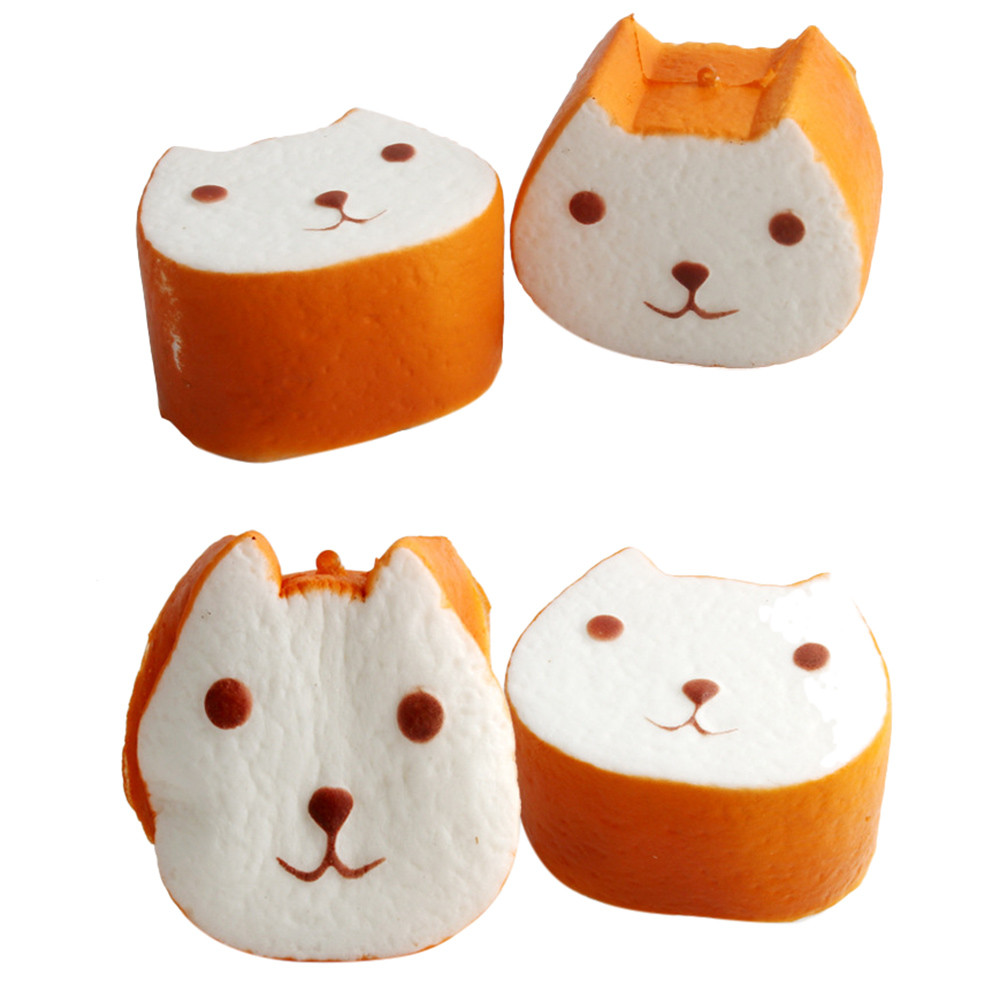 HIINST Bread Squishy Decor Slow Rising Cream Scented Toys Squeeze Relieve Anxiet Gifts dropship p30 MAY16