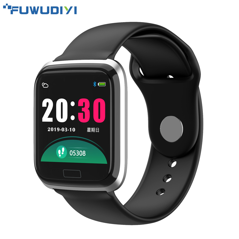 FUWUDIYI CY05 Men Smart Watch Women Fitness Tracker Android Smartwatches Blood Pressure Sports IP67 Waterproof Smart Watch Men-in Smart Watches from Consumer Electronics