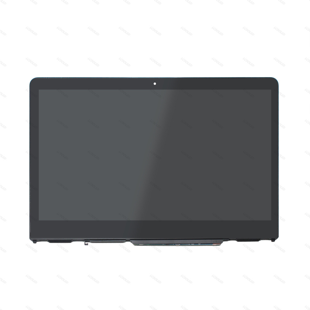 14.0'' LCD Display Touch Screen Glass Assembly+Frame For HP Pavilion X360 14-ba006ns 14-ba105ni 14-ba105na 14-ba114tu 14-ba022tu