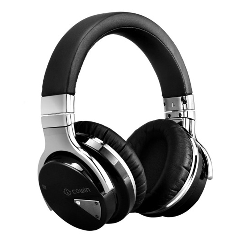 Cowin E7 Wireless Bluetooth Headphone Active Noise Cancelling Stereo Vinyls Bluedio Headset For Mobile Phone xiomi Airpods elari noise cancelling mini bluetooth earphone for phone xiomi iphone 6 7 6s headphones wireless stereo headset 4 1 earpiece for girls