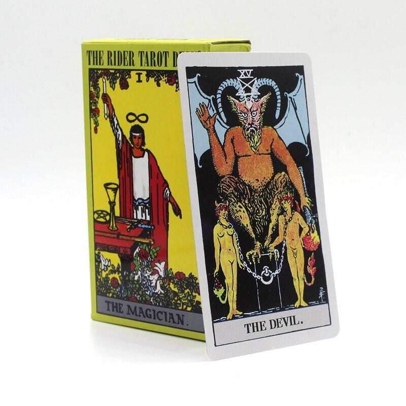 78 PCS/Set 6 Options Quality Rider Wait Tarot Cards Dragon/Animal/Radiant/ The Rider Tarot Deck/Classic Tarot Board Game