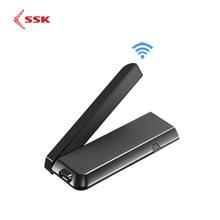 Miracast llave electrónica inalámbrica con pantalla multimedia, adaptador de TV con HDMI, SSK, 2,4/5G, 1080P, WiFi, Miracast, Airplay, DLNA