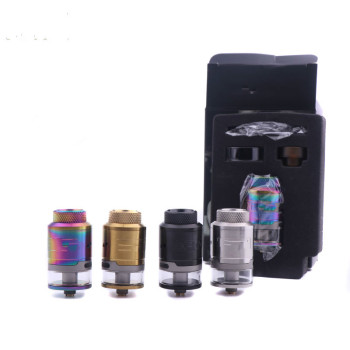 цена на RTA Tank 3ml Electronic Cigarette Atomizer Leak Proof Bottom Airflow Direct To Coil Single Coil 24mm rtda RDA RTA Tank