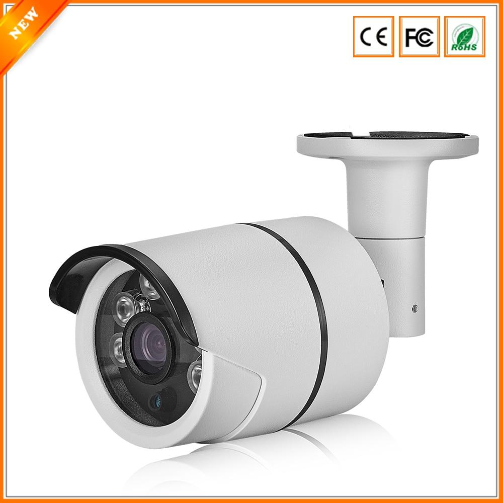 bilder für BESDER 800TVL 1000TVL CMOS Sensor Cctv-kamera Metallgehäuse IP67 kugel Überwachungskamera Im Freien Mit Ir-sperrfilter 6 STÜCKE Array LED