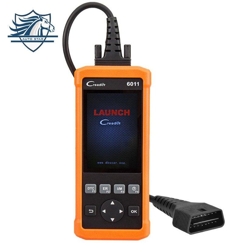 Цена за Новый старт Creader CR6011 OBD2/EOBD автоматический диагностический сканер с abs и srs системной диагностики функции KTAG CDP инструменты для автомобилей