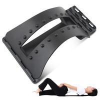 Back Massage Magic Stretcher Fitness Equipment Waist Stretch Relax Mate Stretcher Lumbar Support Spine Pain Relief
