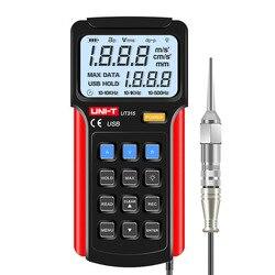 UNI-T UT315 Digitale Trillingen Meter Digitale vibrometer draagbare trillingen meetinstrument LCD Backlight Display USB aansluiten