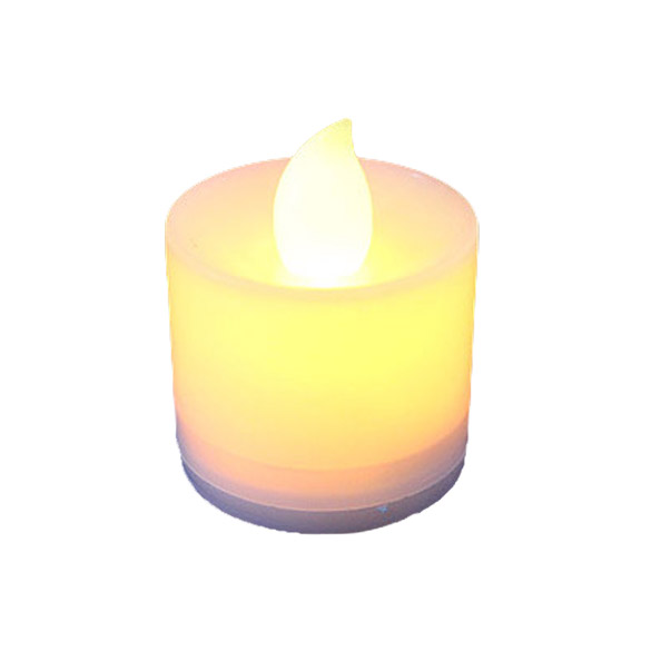 Plastic LED Flash Electronic Flameless Candle Light Lamp For Garden Decoration  HR