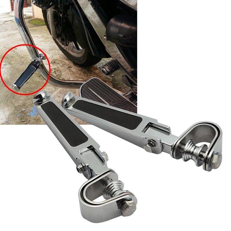 1 pair Piede Poggia XL883/1200 di Assicurazione di protezione asta resto del piede pedali Moto resto del piede