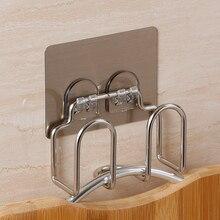 HS040 Kitchen Magic no trace paste stainless steel kitchen toilet rack pot cover 10*4.5*9.5cm