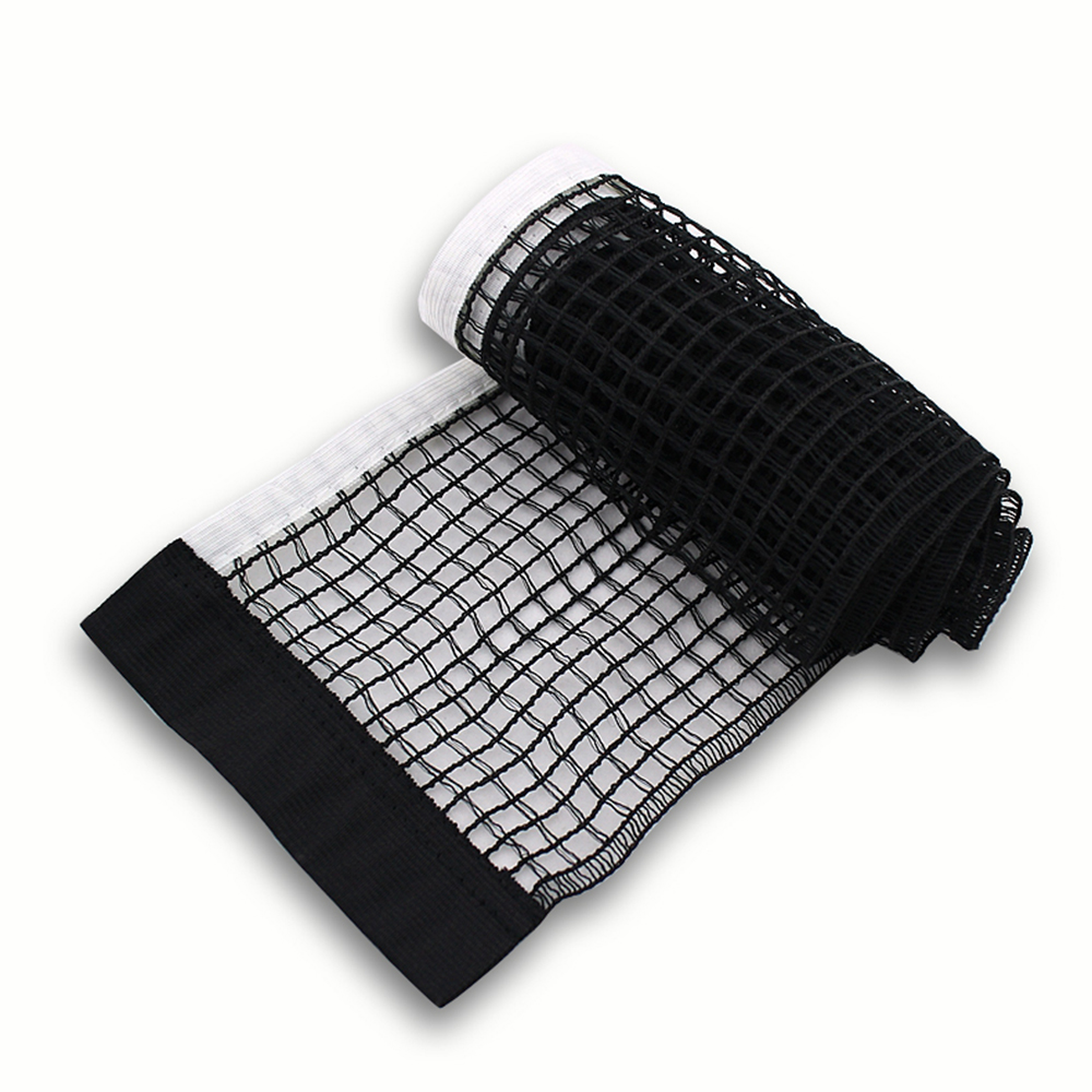 Black Table Tennis Net Nylon New Replacement Mesh Ping Pong