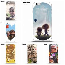 Perciron Cartoon Beauty Up Pixar Carl Ellie For IPhone 4 4S 5 5C SE 6 6S 7 8 Plus X