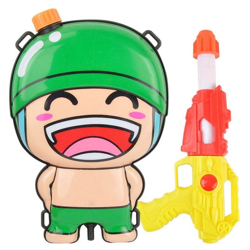 Children s Water Sprinklers Summer Backpack Sprinklers Cartoon Backpacks Beach Toys Water High Pressure Sprayers pistola de agua