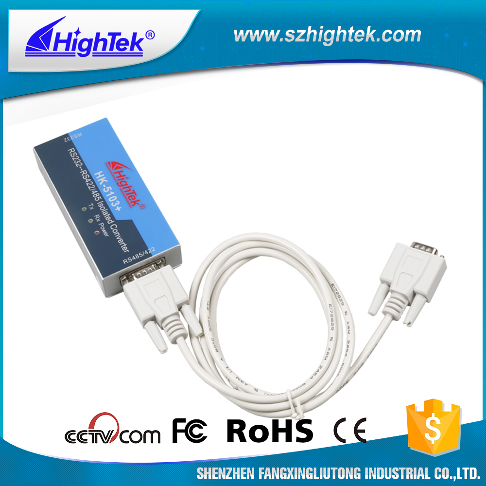 HighTek HK-5103+ Industrial grade Rs232 To Rs485/422 Active Isolated Interface Converter ...